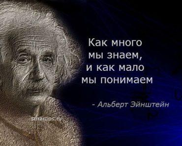 цитаты-эйнштейн-знание-smartips