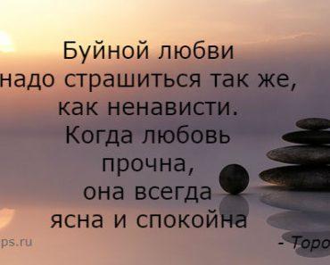 Цитаты Торо