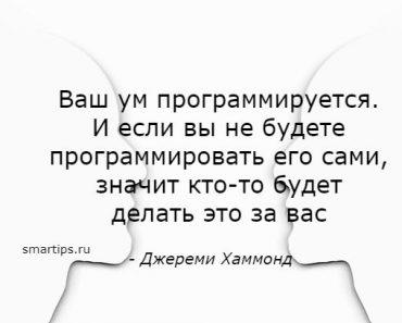 Цитаты Джереми Хаммонд