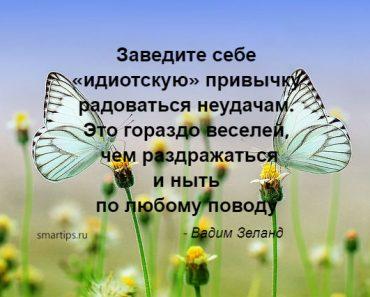 Цитаты Вадим Зеланд