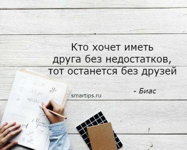 Цитаты Биас