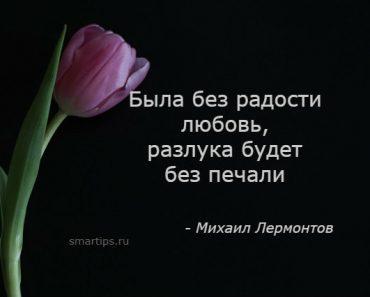 Цитаты Михаил Лермонтов