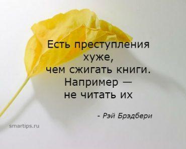 Цитаты Рэй Брэдбери